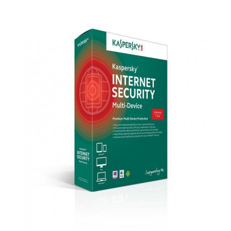 Kaspersky Internet Security 2015 - 1User Plus 1PC Free