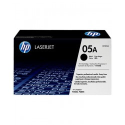 HP 05A Black LaserJet Toner- Black