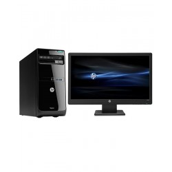 "HP Desktop PC 280GTIM-3250 Intel Dual Core -FREEDOS- + 19"" LED"