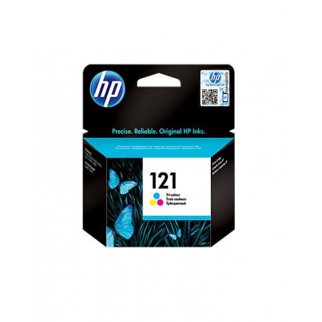 HP 121 Tri-colour Ink Cartridge - CC643HE