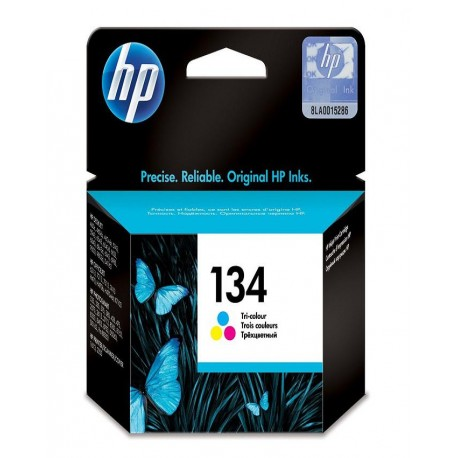 HP 134 Tri-colour Inkjet Print Cartridge
